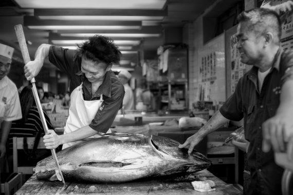 Tsukiji Fish Market – Tokyo